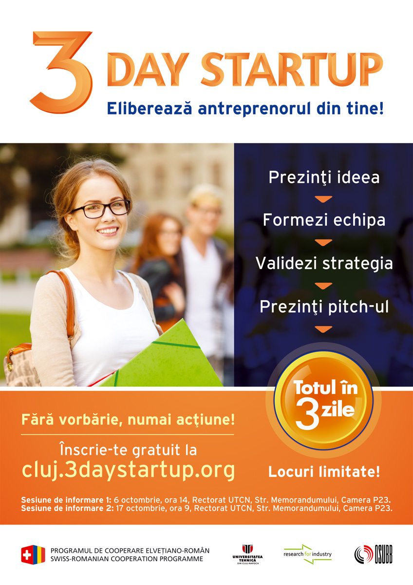 3 day start up 14 - 16 noiembrie