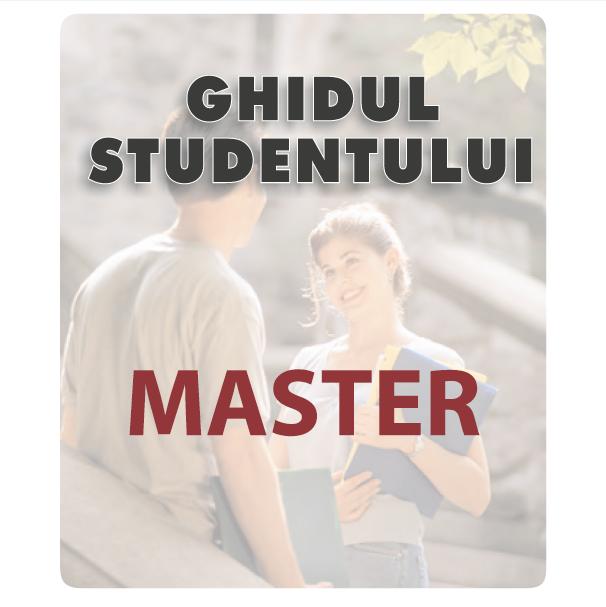 ghidul studentului master