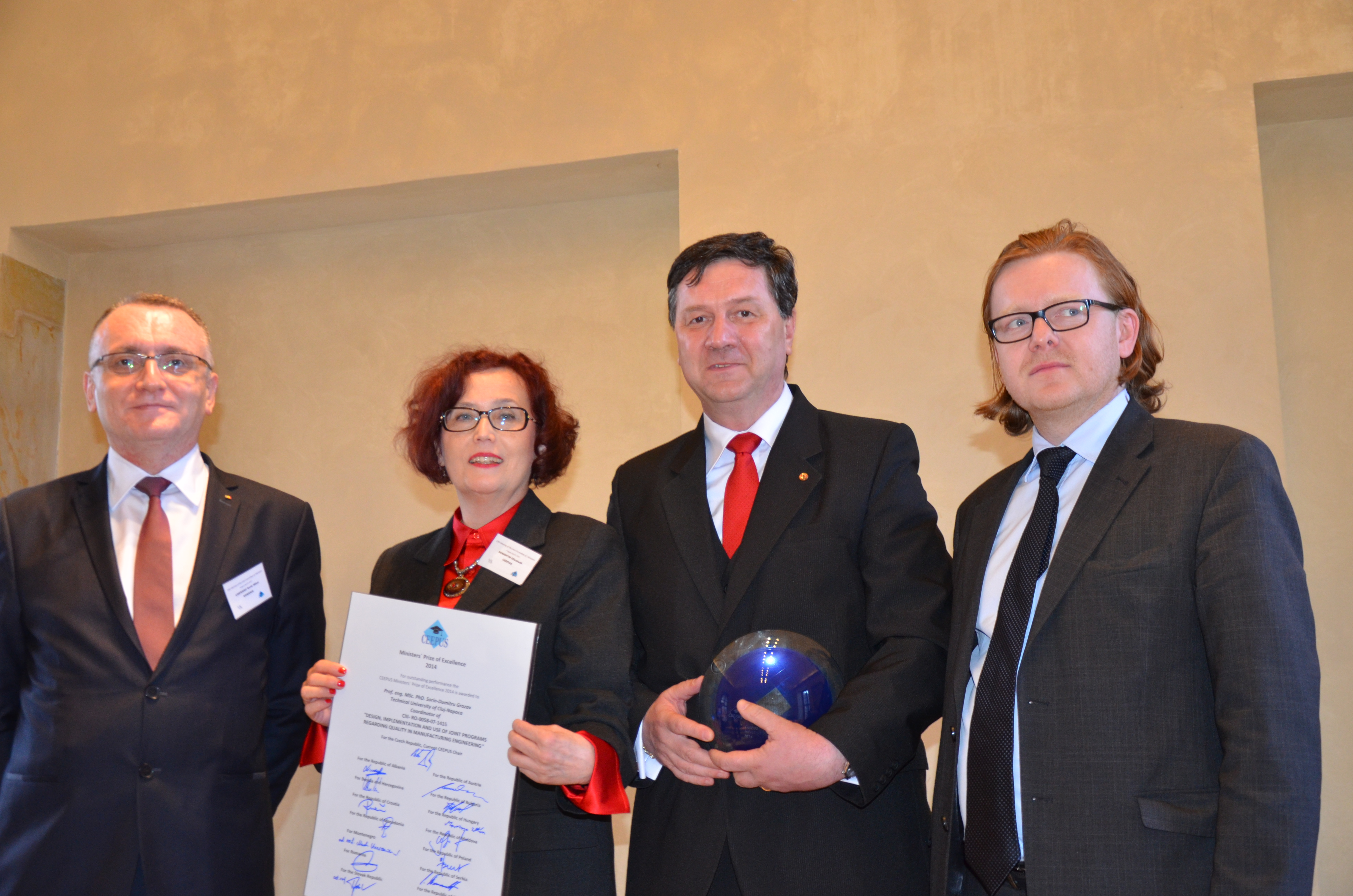 programul ceepus - premiul de excelenta al ministrilor