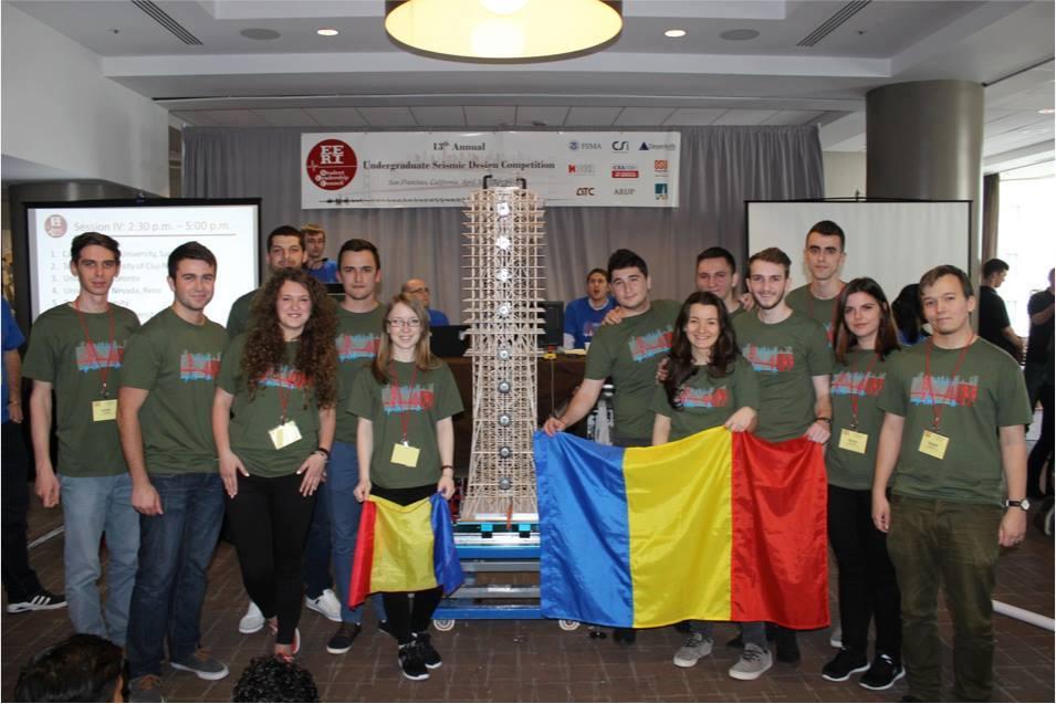 seismic design competition - echipa utcn - locul i pentru a treia oara!