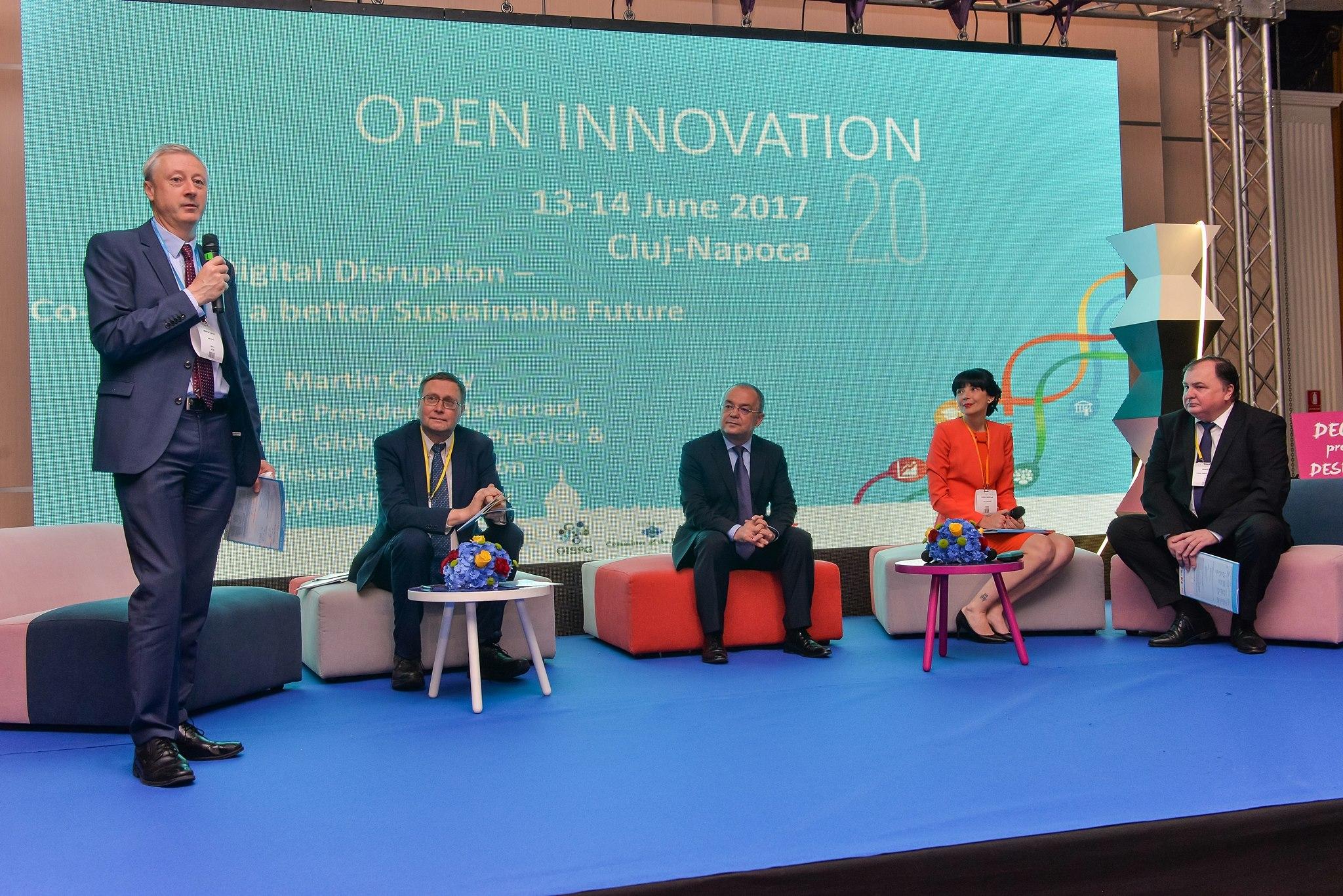 utcn a participat la open innovation conference 2017