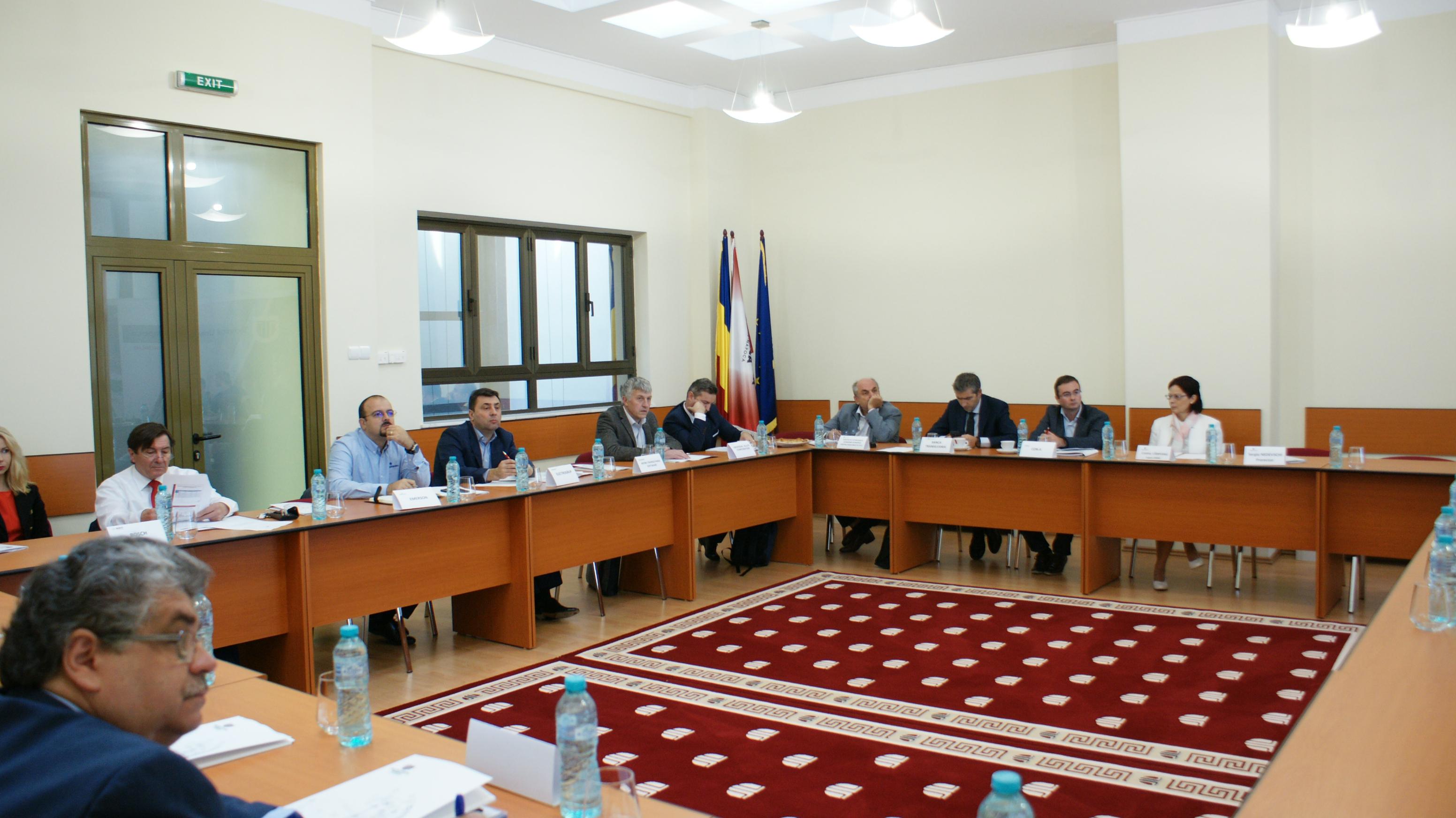 intalnirea comitetului consultativ al rectorului