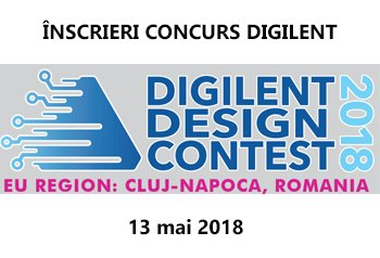 digilent design contest 12 - 13 mai 2018