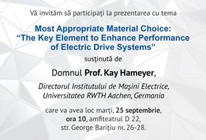 prelegere  prof. kay hameyer
