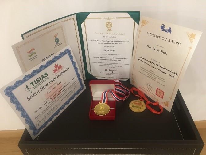 medalii și premii pentru cercetarea din cadrul utcn la salonul de inventică din thailanda