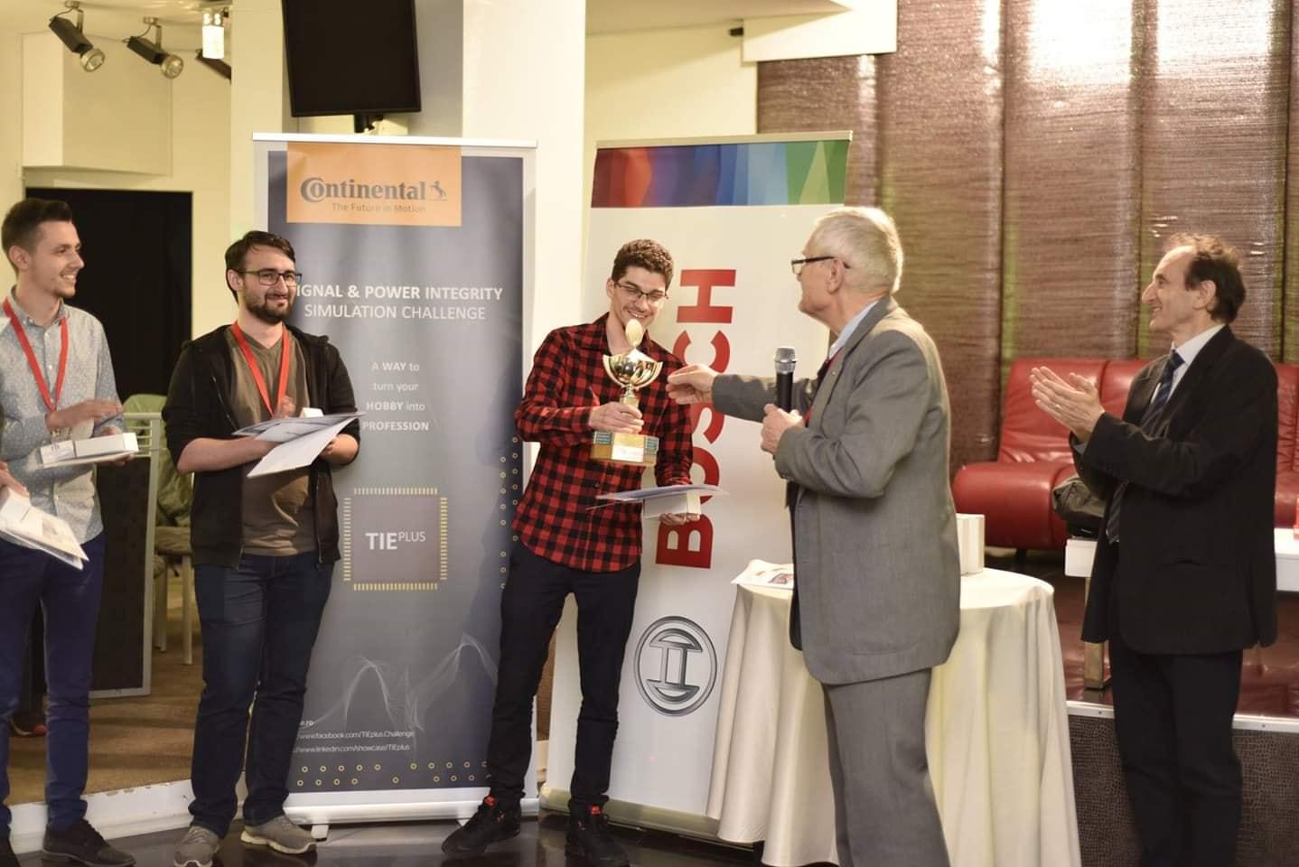 """dragoș ghineț – premiul i, faza națională la concursul """"tehnici de interconectare în electronică"""""""