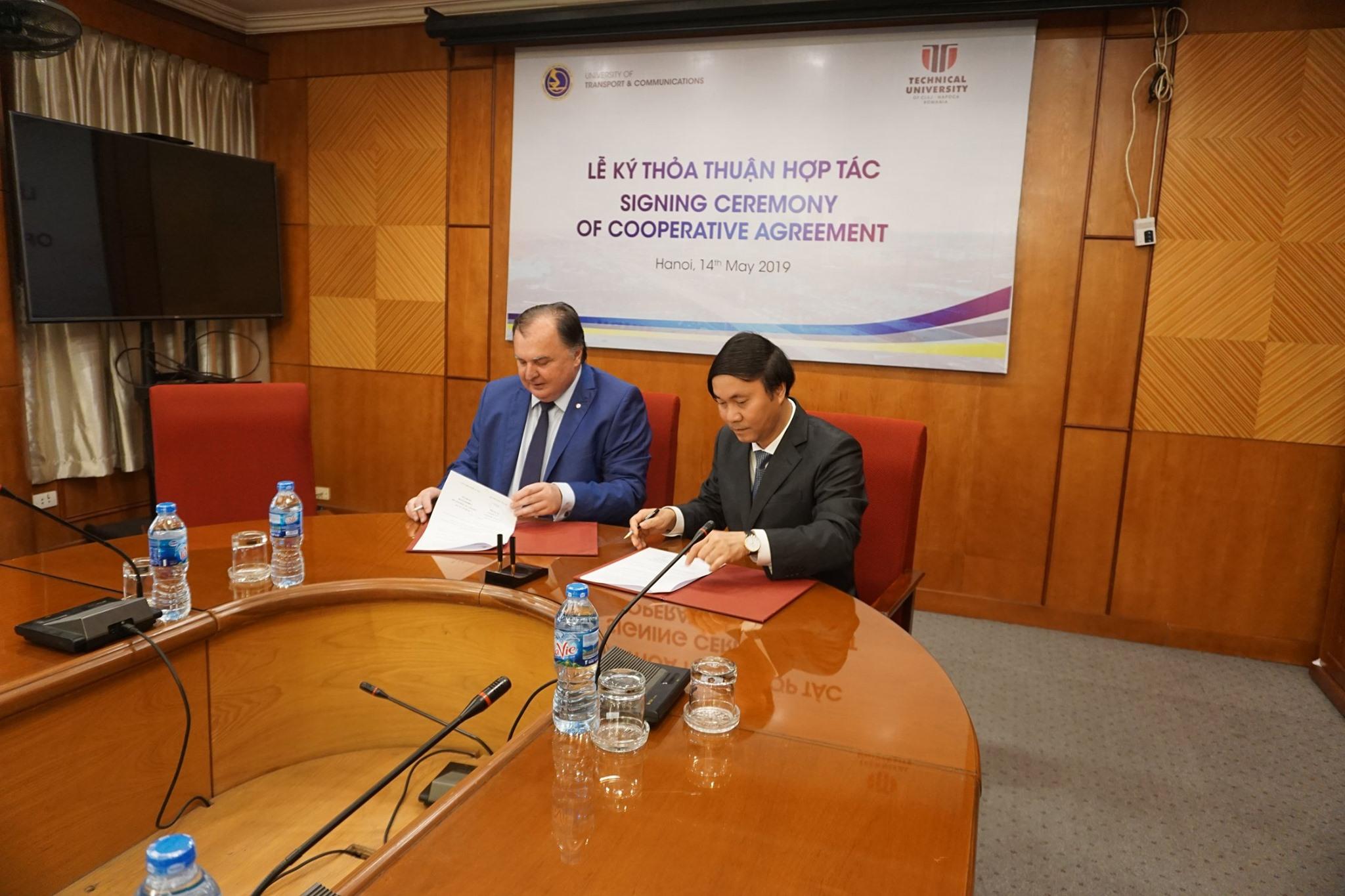 utcn a încheiat acorduri de colaborare cu două dintre cele mai prestigioase universități din vietnam