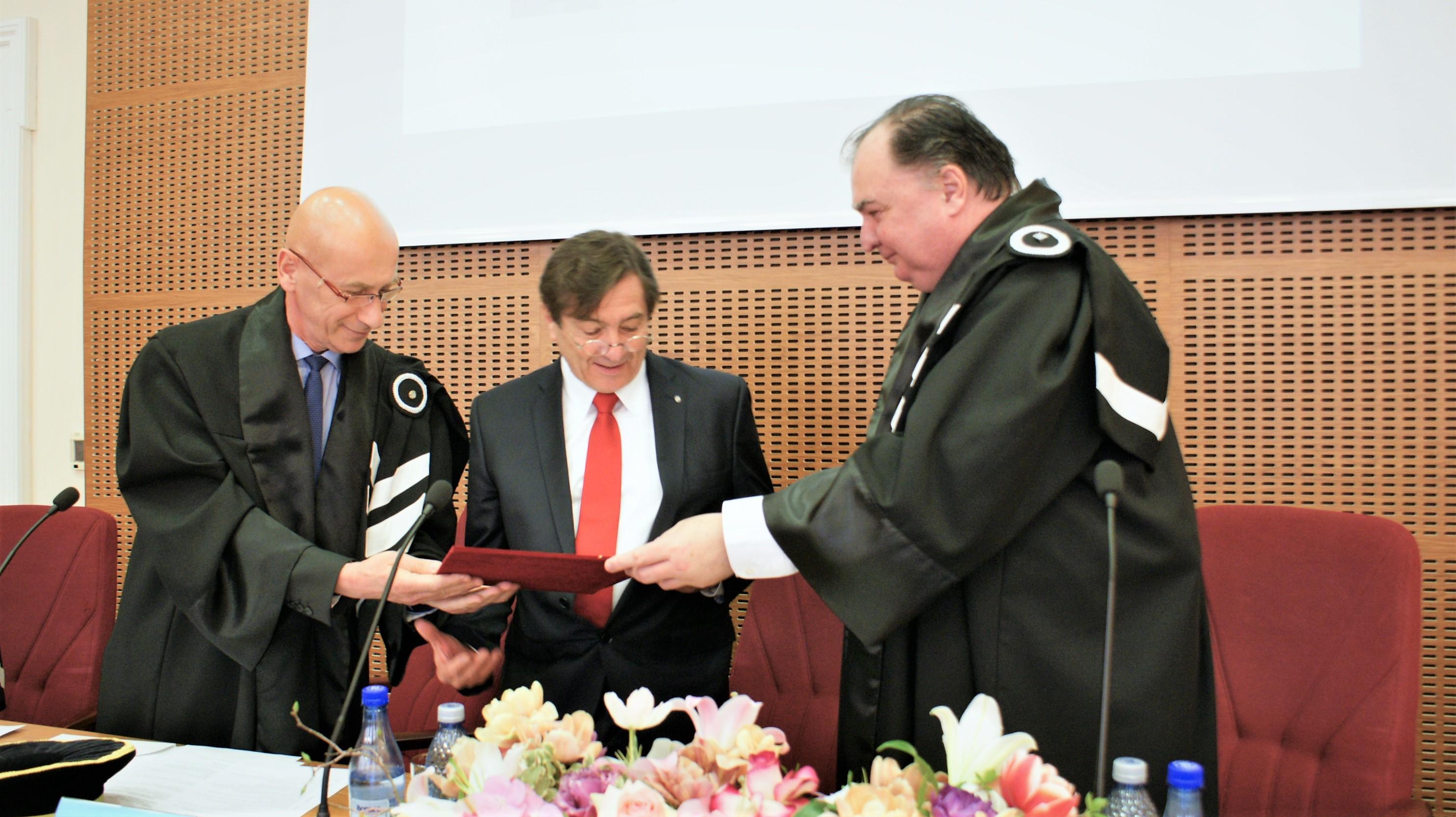 konrad f. kaschek a primit titlul de profesor onorific al universității tehnice din cluj-napoca