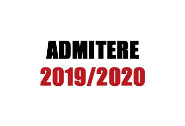 noutăți admitere 2019/2020. cursuri gratuite la matematică pentru pregătire admitere