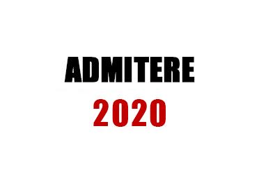 admitere 2020