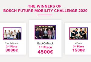 studenții utcn au cucerit podiumul competiției bosch future mobility day