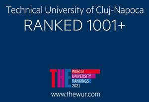 utcn se menține în unul dintre cele mai prestigioase clasamente universitare mondiale