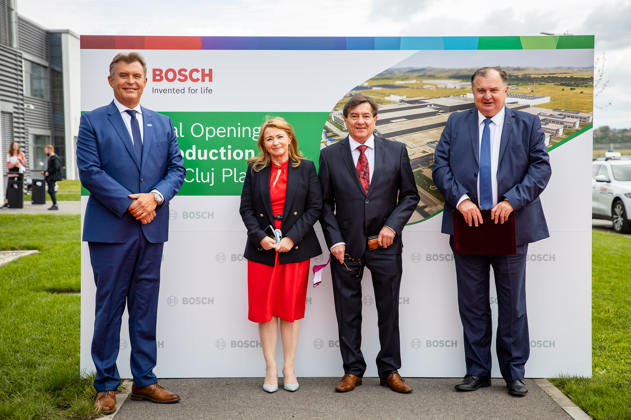 utcn alături de bosch la deschiderea celei de-a treia unități de producție