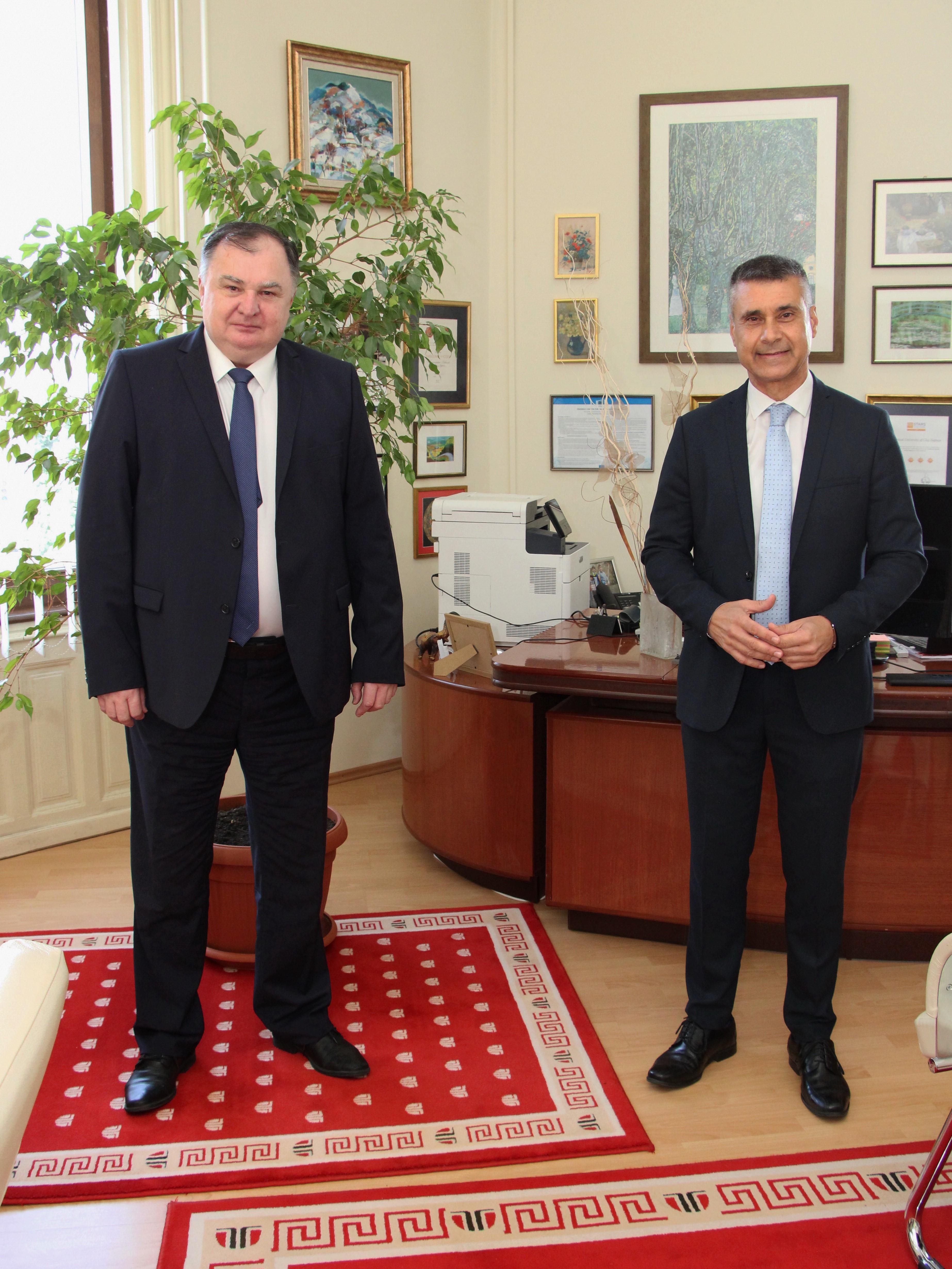 excelența sa, ambasadorul israelului în românia, domnul david saranga, în vizită la utcn