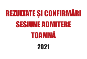 sesiune admitere toamnă 2021