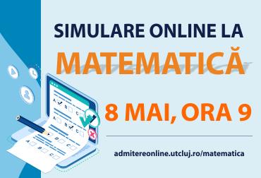 admitere 2021 -  simulare online la matematică